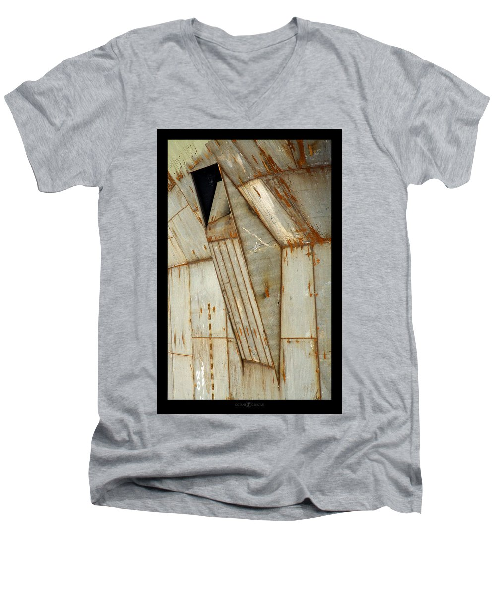 Hull Men's V-Neck T-Shirt featuring the photograph Hull Detail by Tim Nyberg