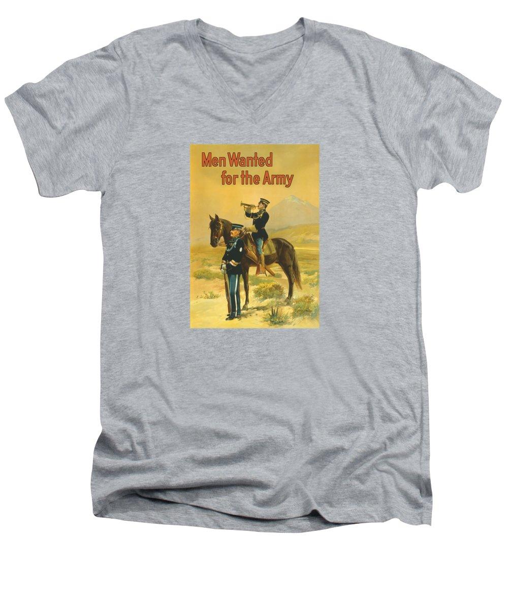 Mount Rushmore V-Neck T-Shirts