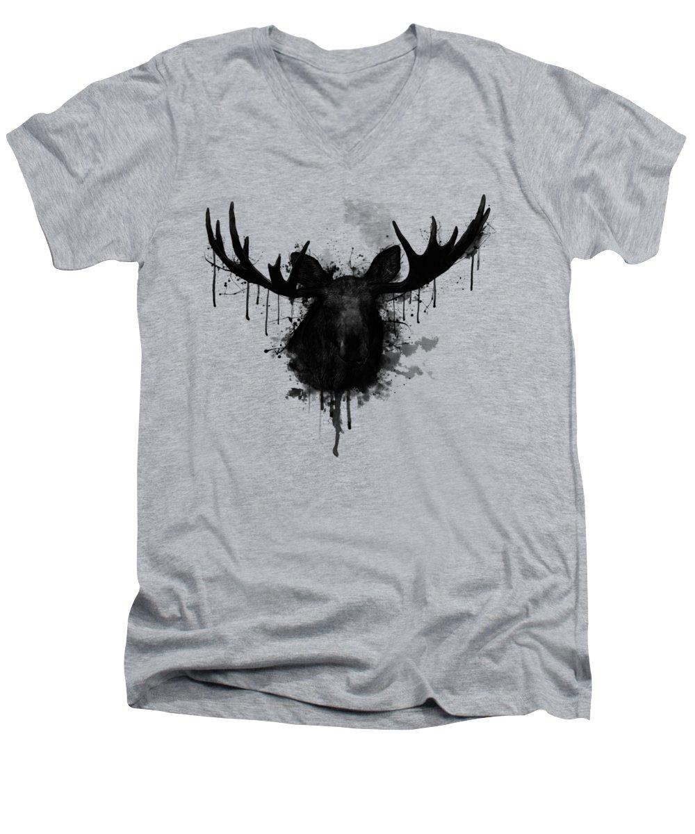 Deer V-Neck T-Shirts