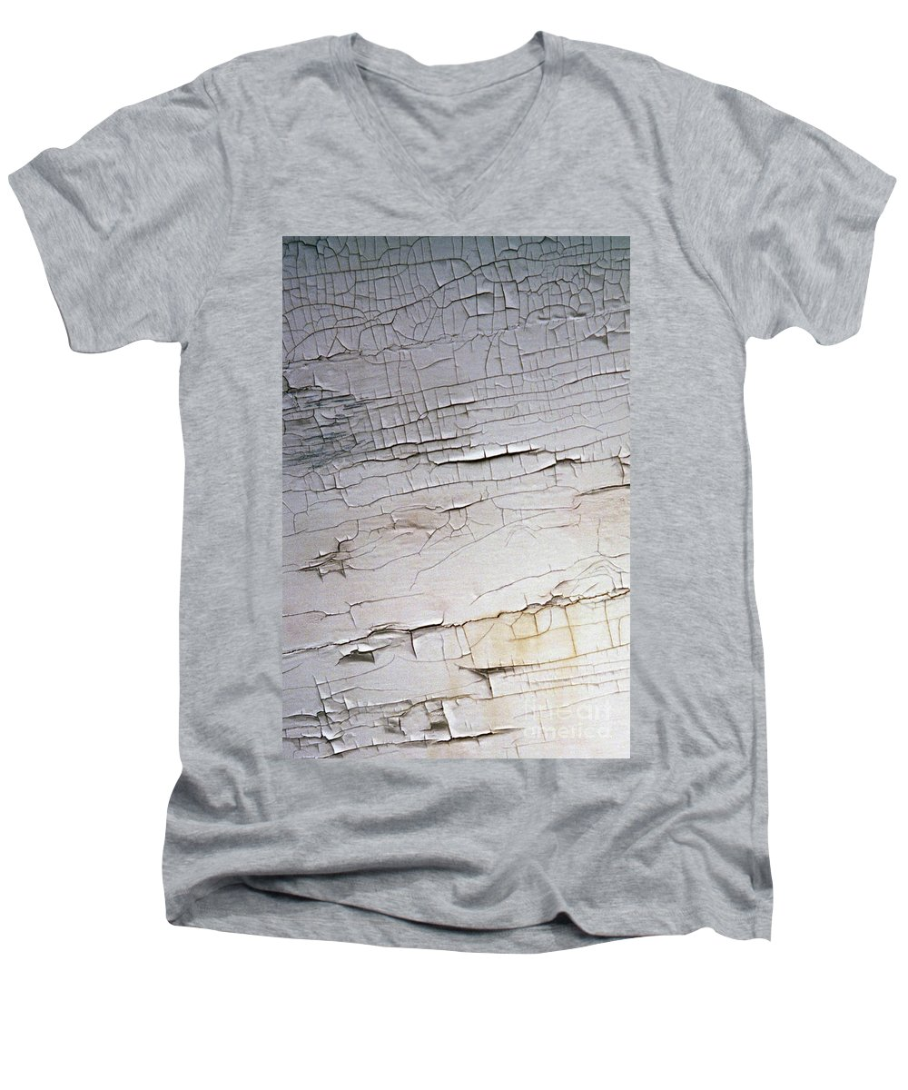 Paint Men's V-Neck T-Shirt featuring the photograph Old Siding by Richard Rizzo