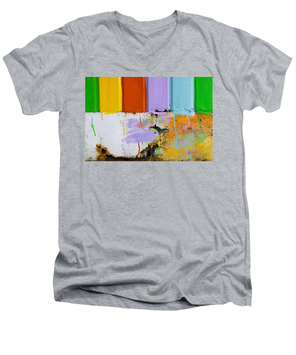 Skip Hunt Men's V-Neck T-Shirt featuring the photograph Once Upon A Circus by Skip Hunt