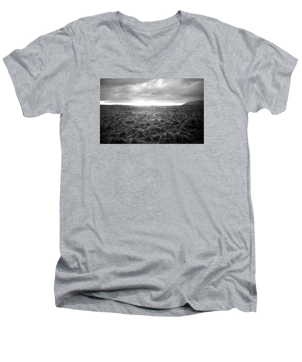 Landscape Men's V-Neck T-Shirt featuring the photograph Opening by Ted M Tubbs