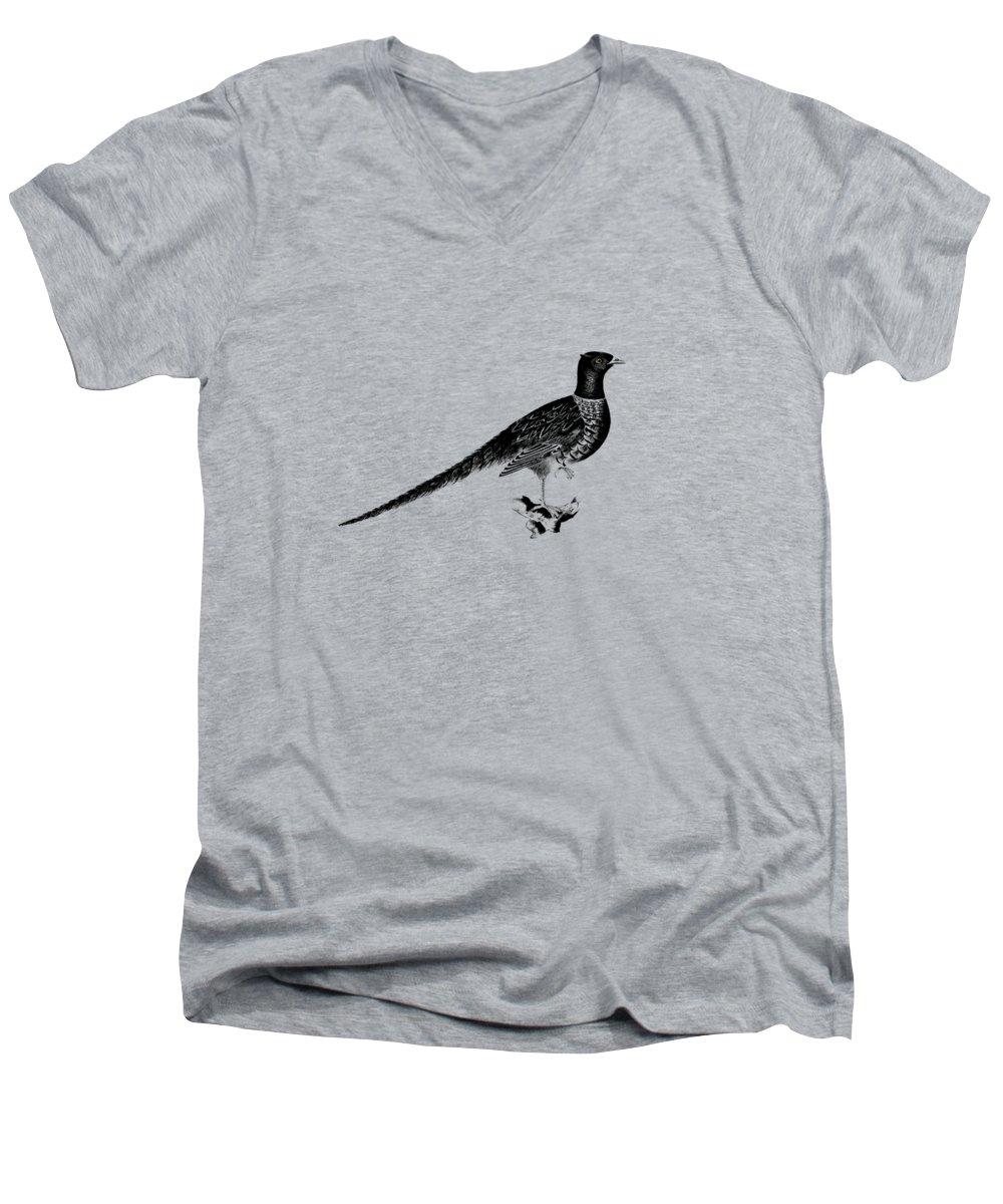Pheasant V-Neck T-Shirts