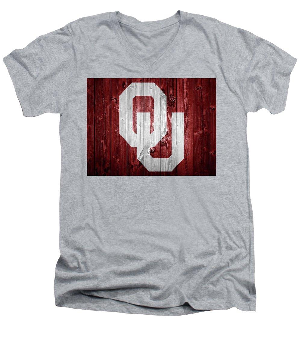 Oklahoma University V-Neck T-Shirts