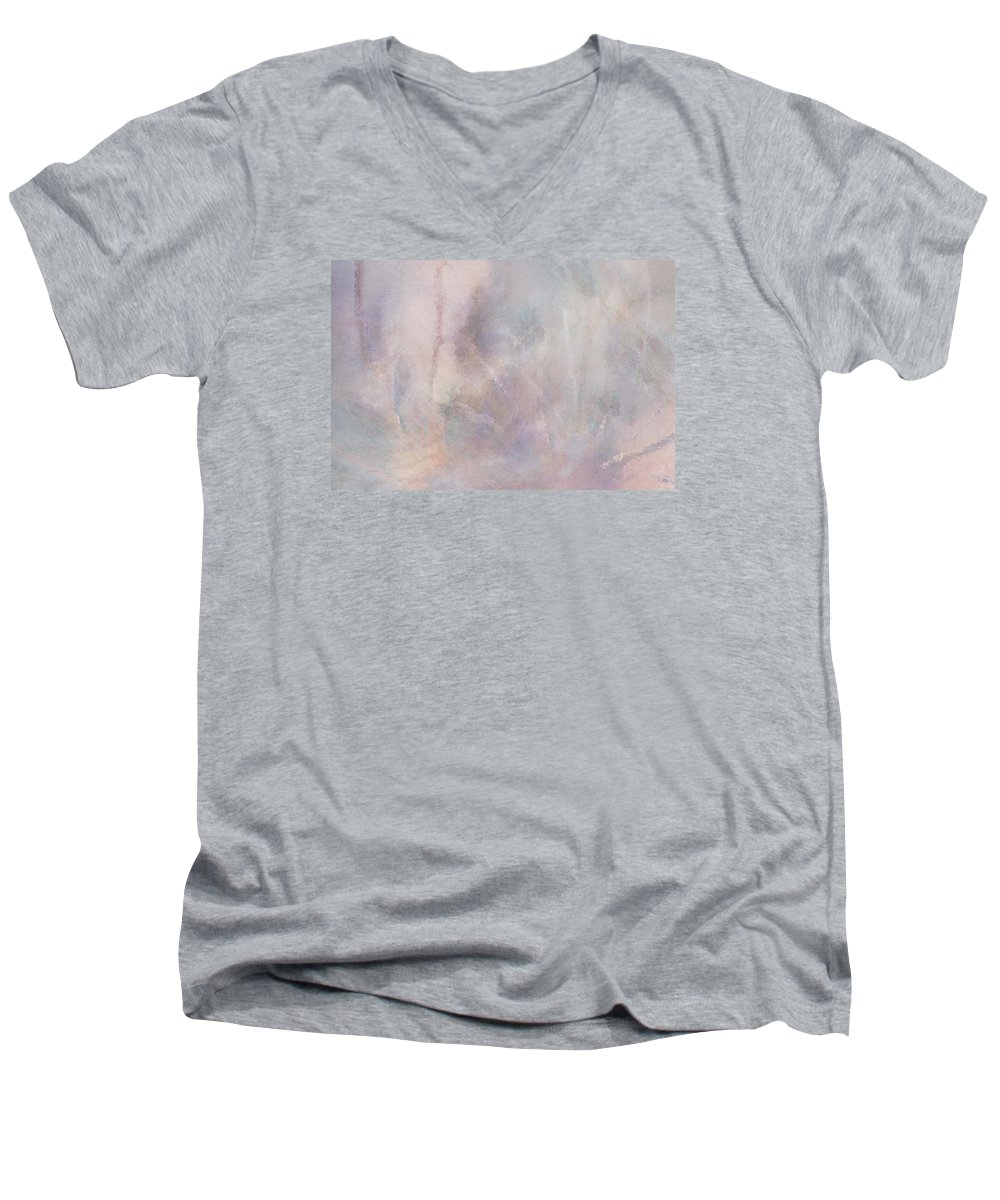 Digital Art Men's V-Neck T-Shirt featuring the digital art Vanishing Act by Linda Murphy