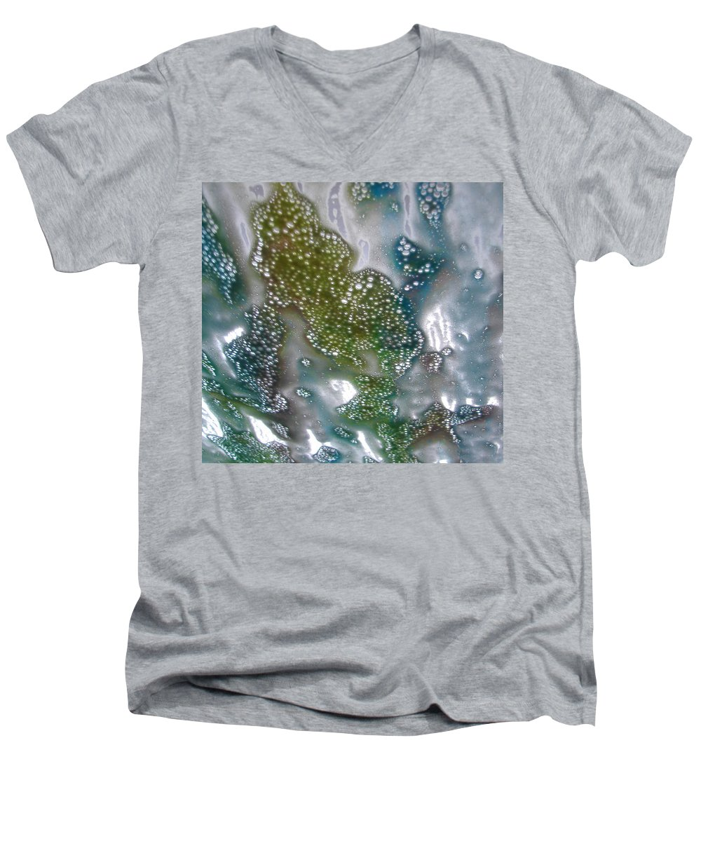 Men's V-Neck T-Shirt featuring the photograph Wax On by Luciana Seymour