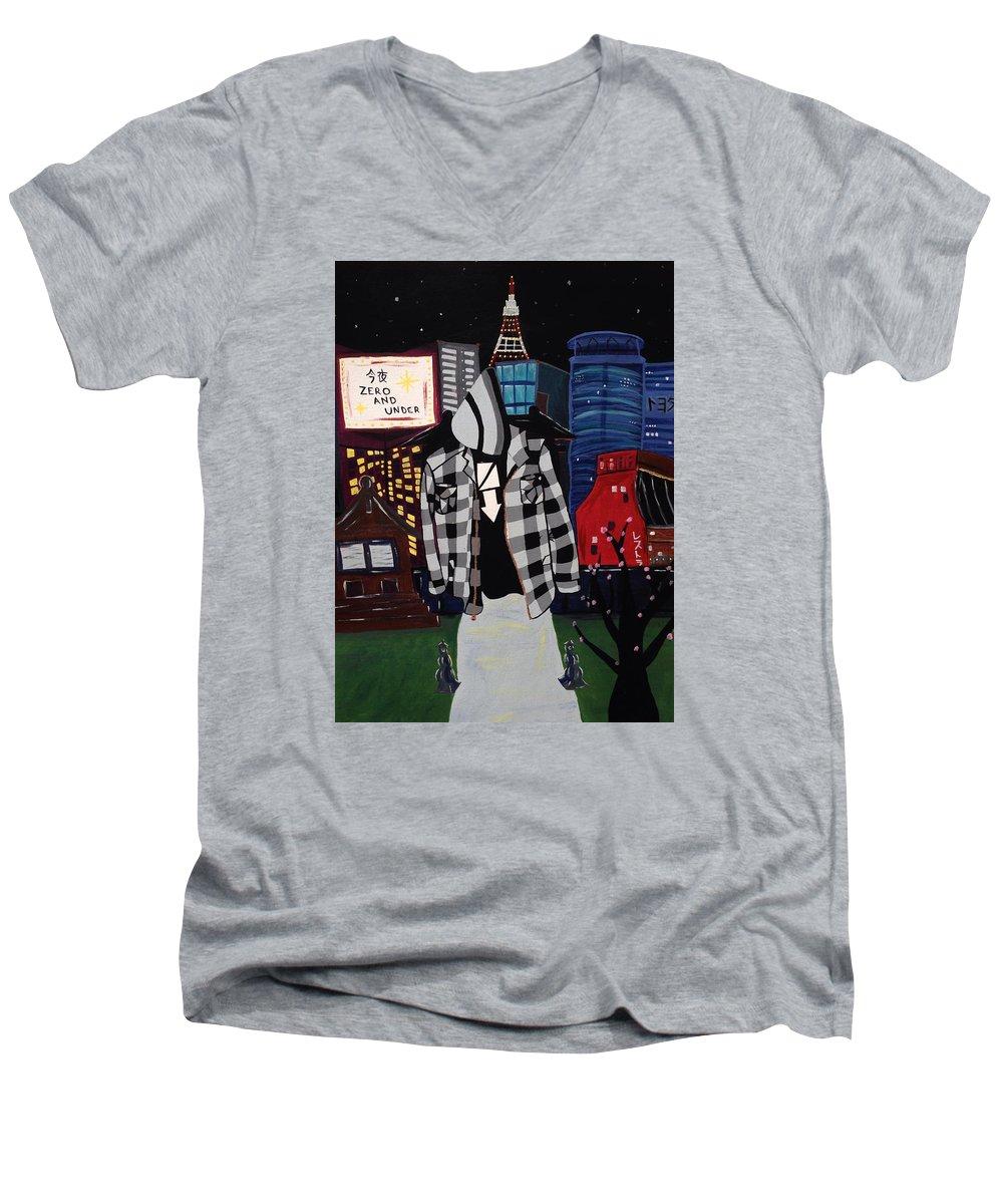 Skylines V-Neck T-Shirts