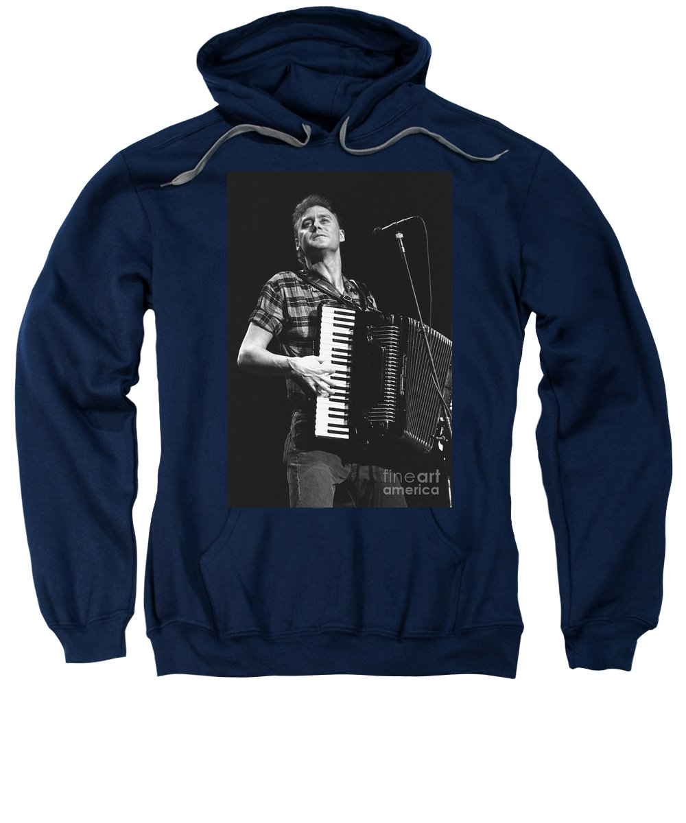 Singer Sweatshirt featuring the photograph Bruce Hornsby by Concert Photos