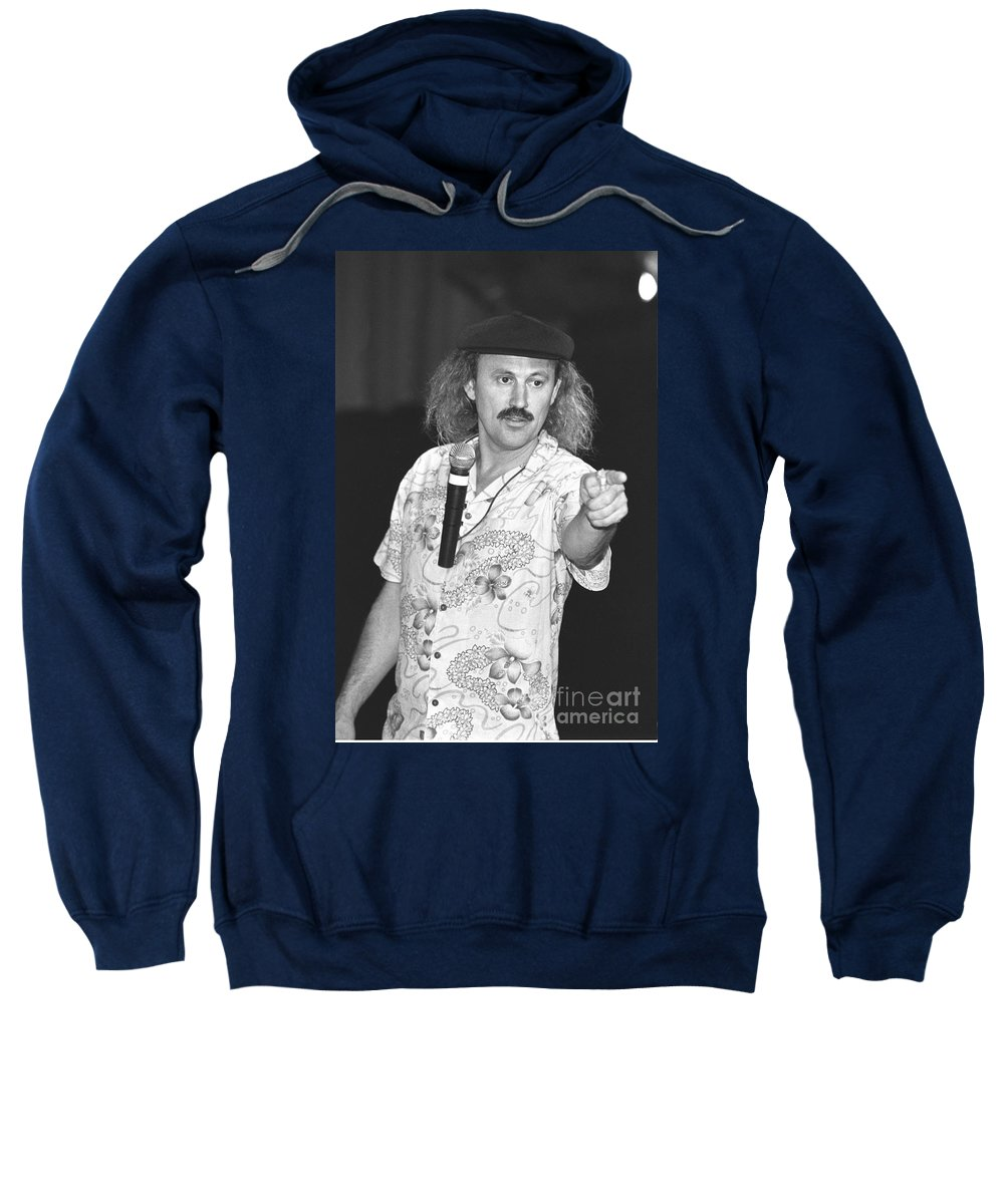 Leo Anthony Gallagher Sweatshirt featuring the photograph Gallagher by Concert Photos