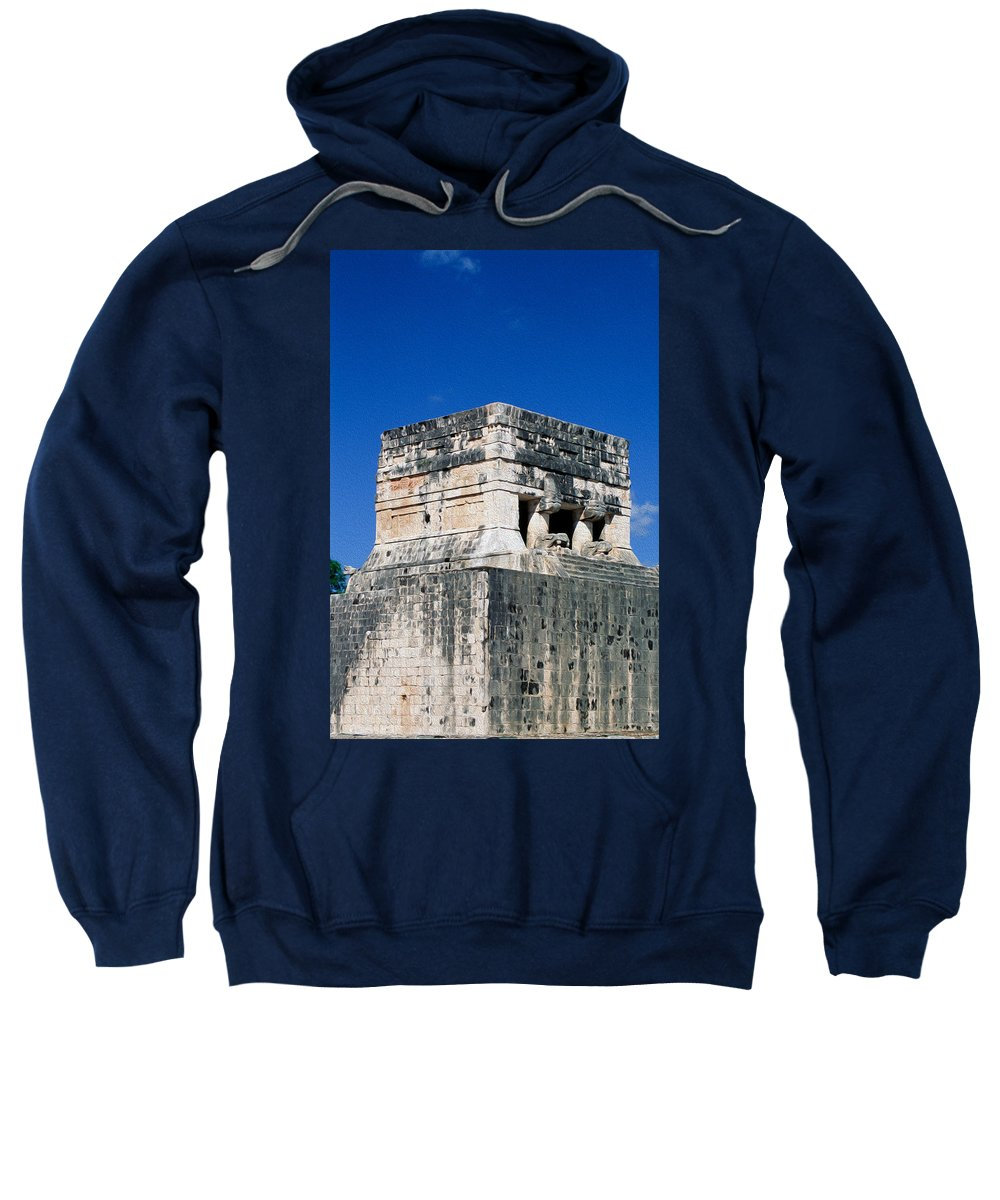 America Sweatshirt featuring the digital art Mayan Ruins by Roy Pedersen