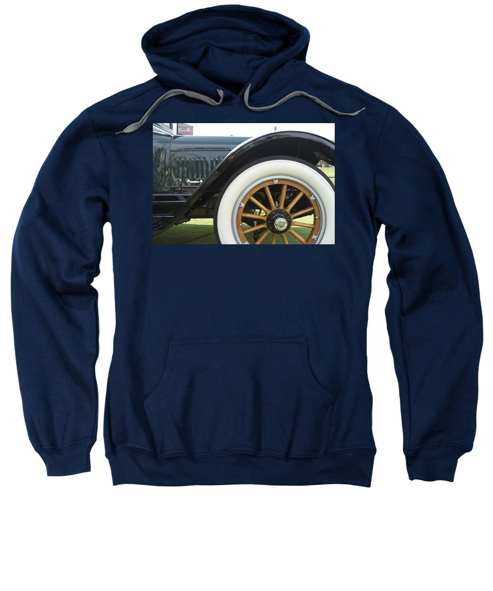 Antique Sweatshirt featuring the photograph 1917 Winton by Jack R Perry