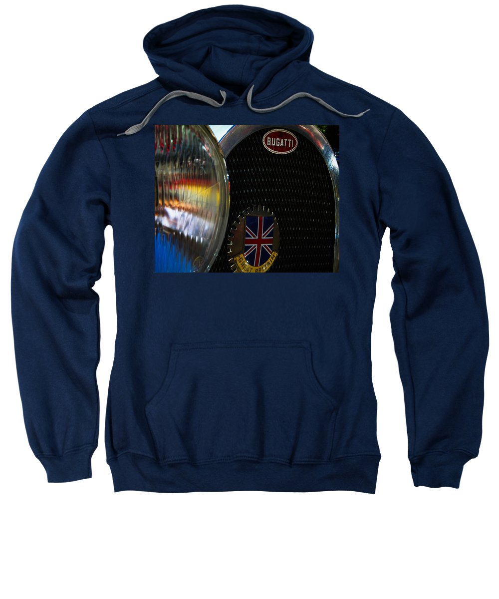 Classic Cars Sweatshirt featuring the photograph 1920s Racer by Digital Kulprits