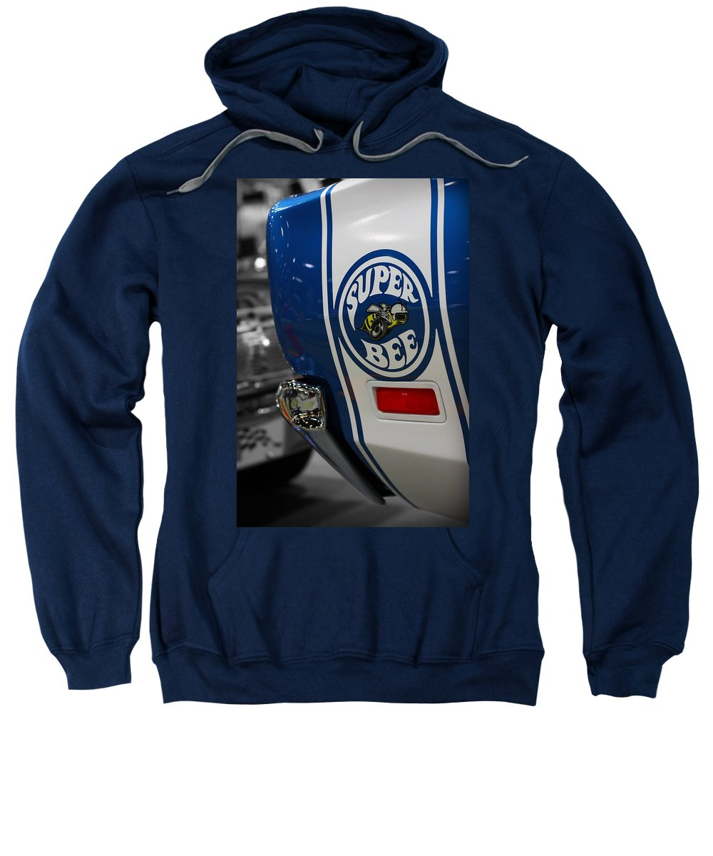 1970 Sweatshirt featuring the photograph 1970 Dodge Coronet Super Bee by Gordon Dean II