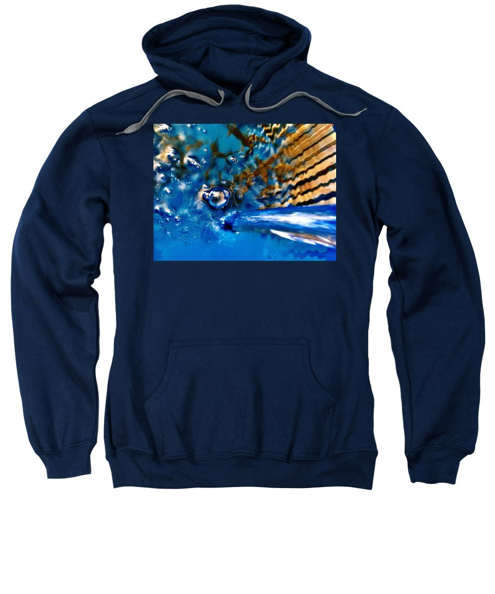Water Sweatshirt featuring the photograph Abstract by Michele Monk