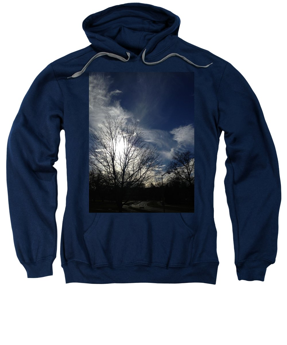 Clouds Sweatshirt featuring the photograph Explosion by Joseph Yarbrough