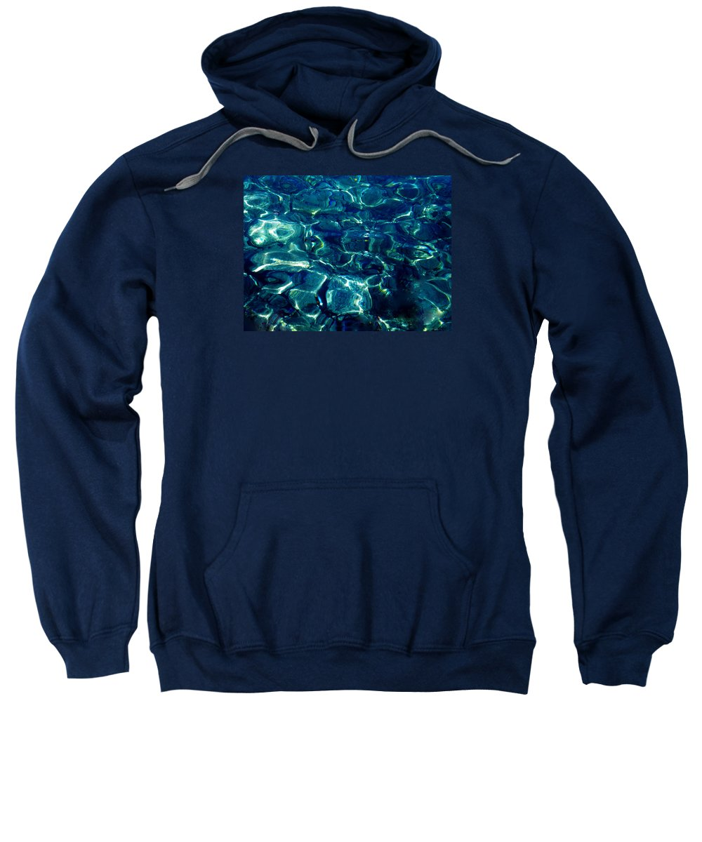 Colette Sweatshirt featuring the photograph Ocean Reflections by Colette V Hera Guggenheim