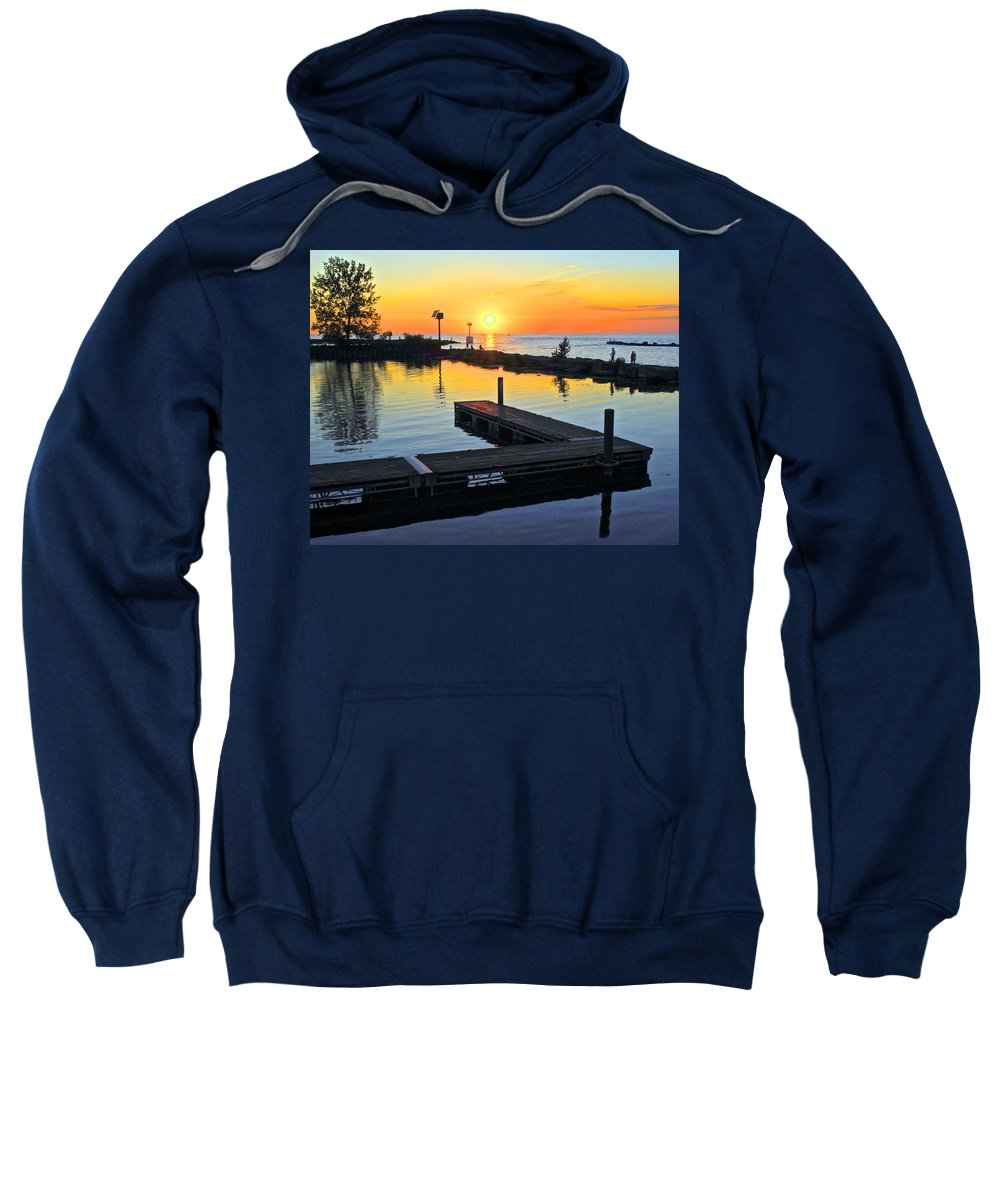 Day Sweatshirt featuring the photograph A New Day by Frozen in Time Fine Art Photography