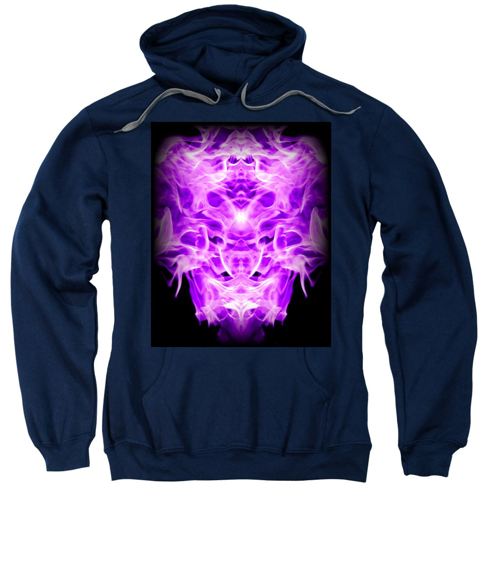 Original Sweatshirt featuring the photograph Abstract 128 by J D Owen