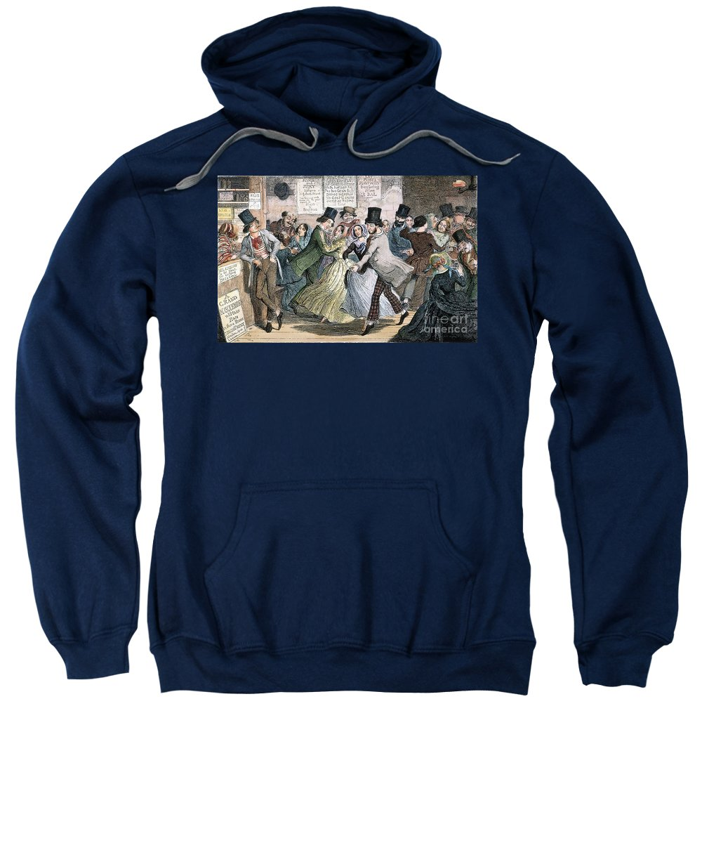 1848 Sweatshirt featuring the photograph Temperance Movement, 1848 by Granger