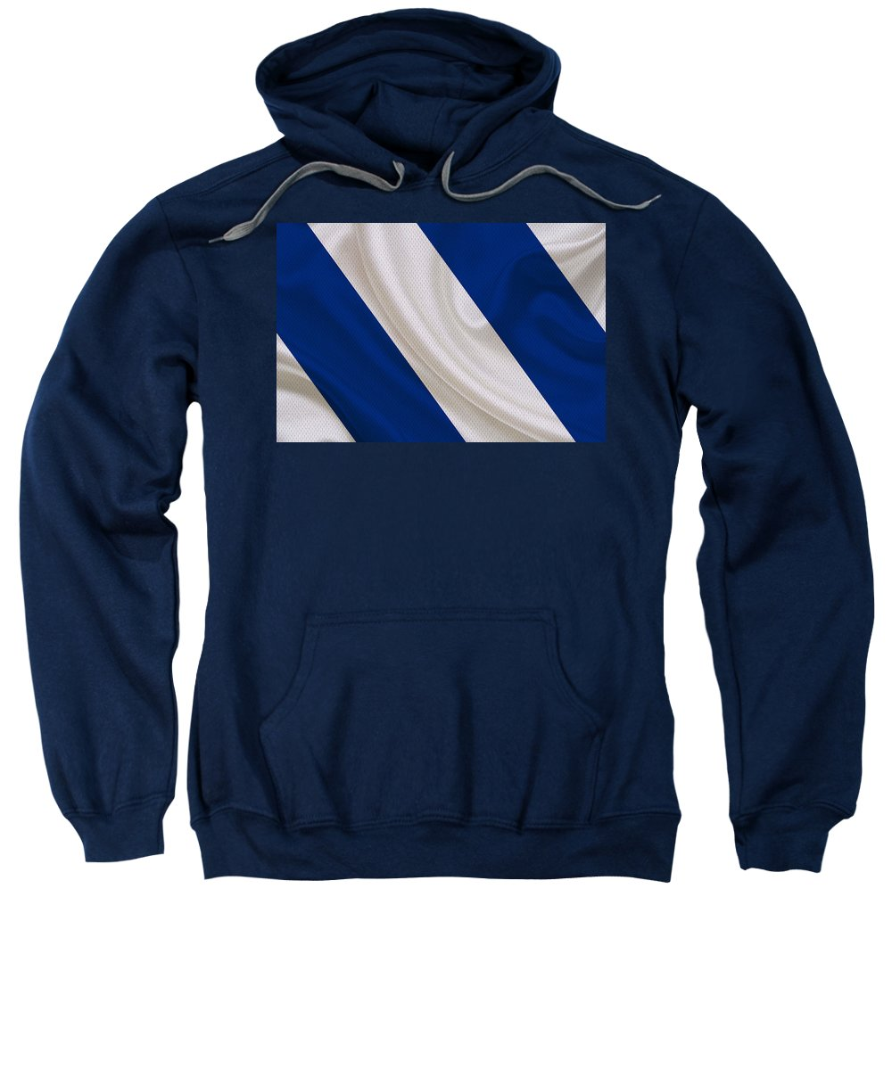 Colts Sweatshirt featuring the photograph Indianapolis Colts by Joe Hamilton