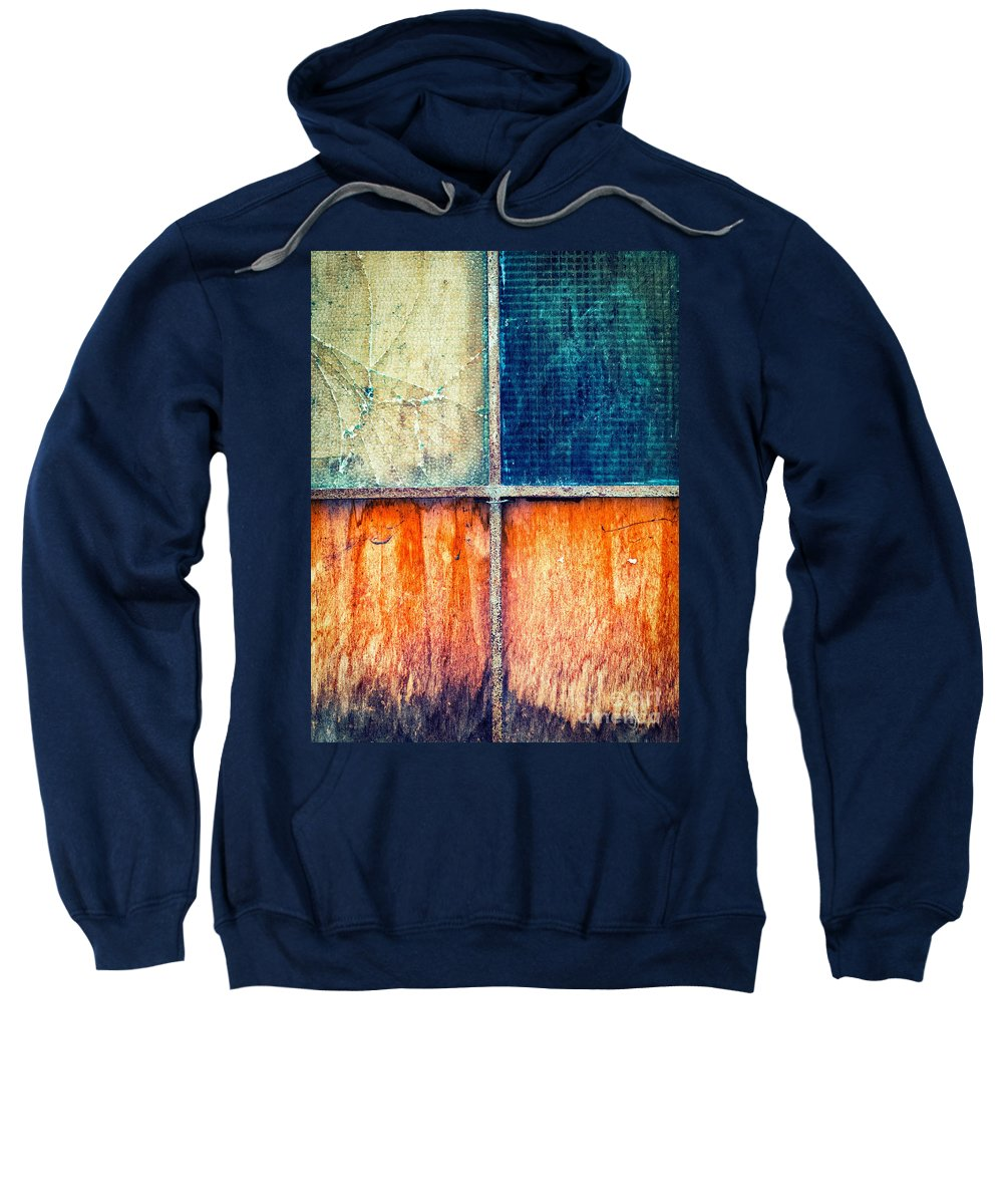 Abstract Sweatshirt featuring the photograph Abstract Window by Silvia Ganora