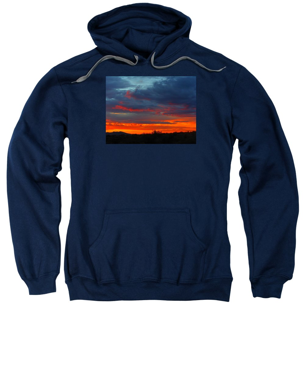 Landscape Sweatshirt featuring the photograph Another Masterpiece Created By The Hand Of Our Creator. by James Welch
