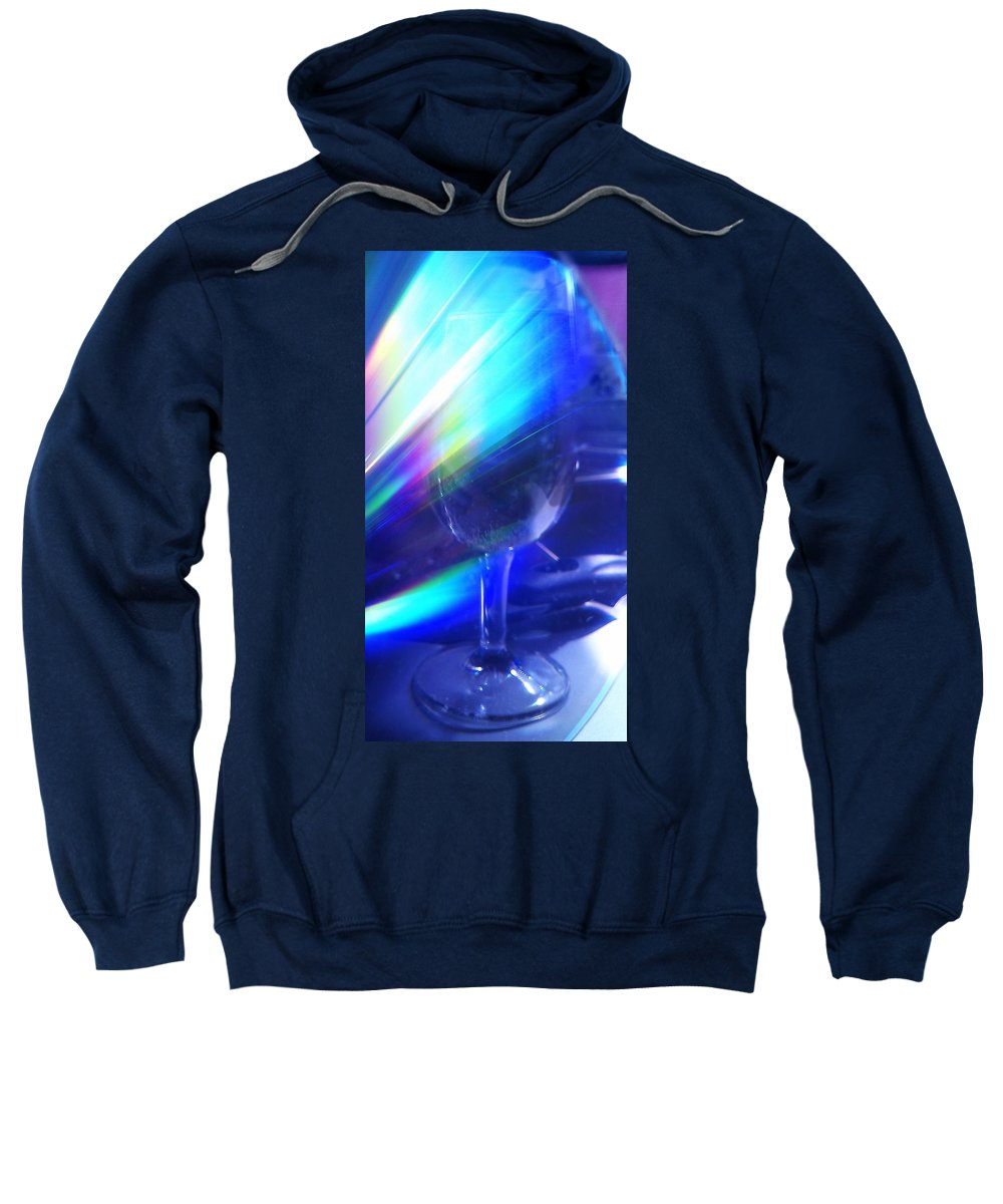 Glass Sweatshirt featuring the photograph Art Glass by Martin Howard