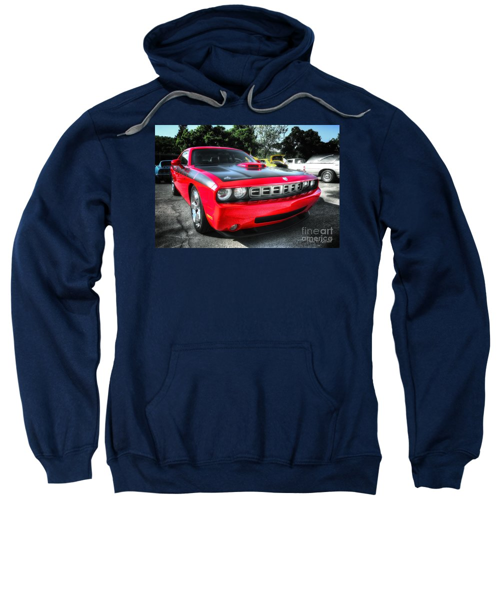 2014 Barracuda Sweatshirt featuring the photograph Barracuda by David B Kawchak Custom Classic Photography