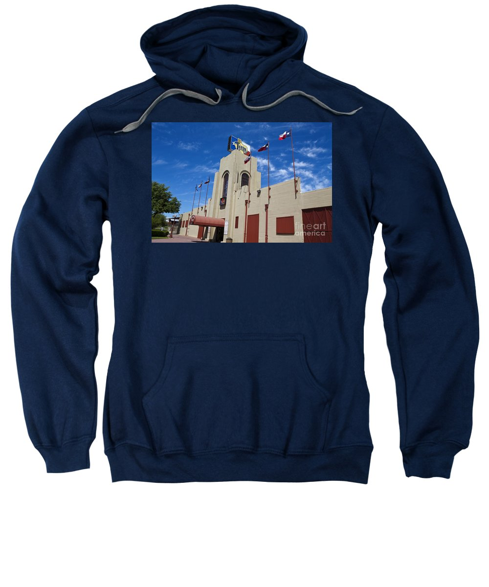 Billy Bob's Sweatshirt featuring the photograph Billy Bobs County Music Hall Fort Worth Texas by Jason O Watson