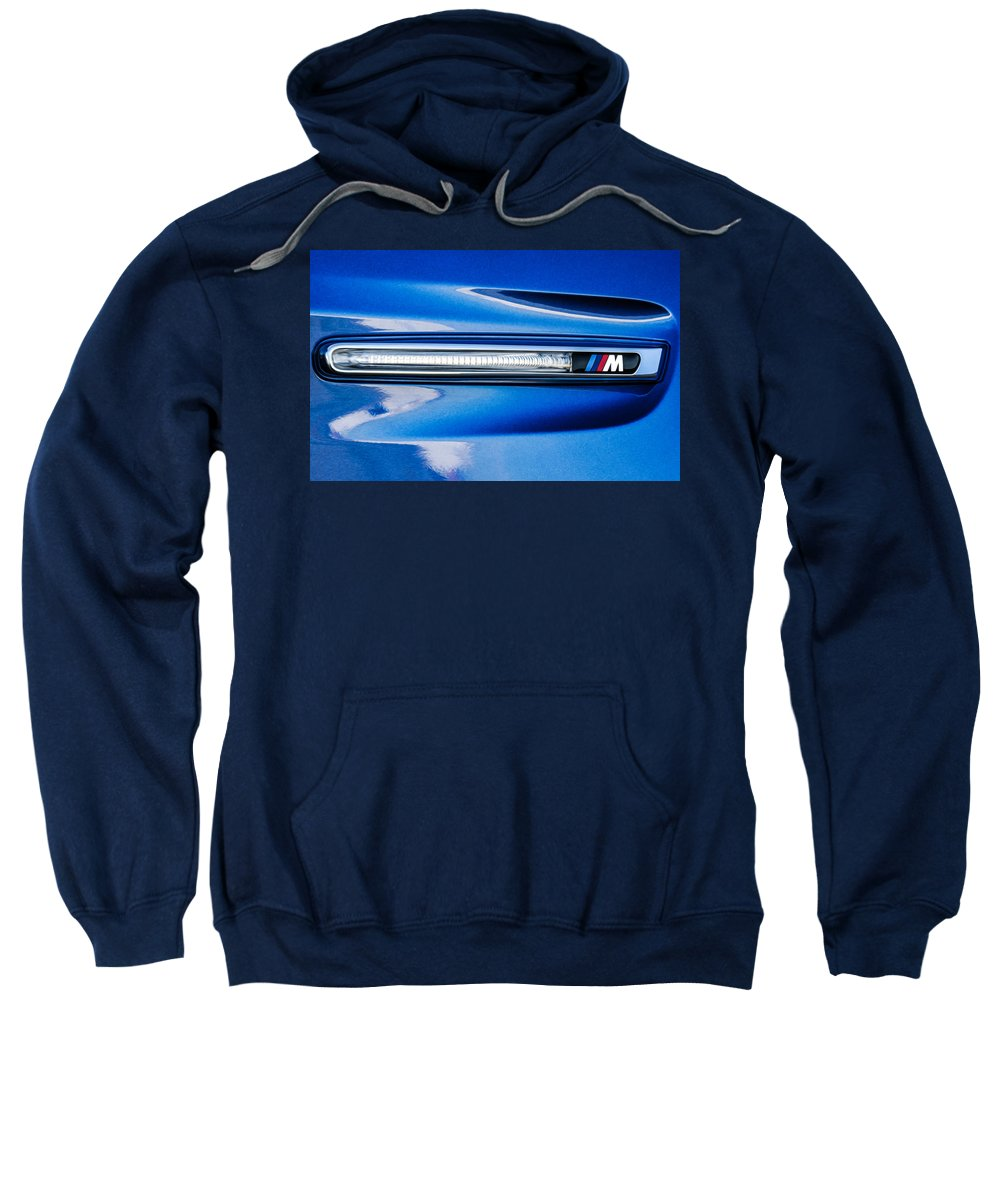 New Sweatshirt featuring the painting Bmw 28 by Jeelan Clark