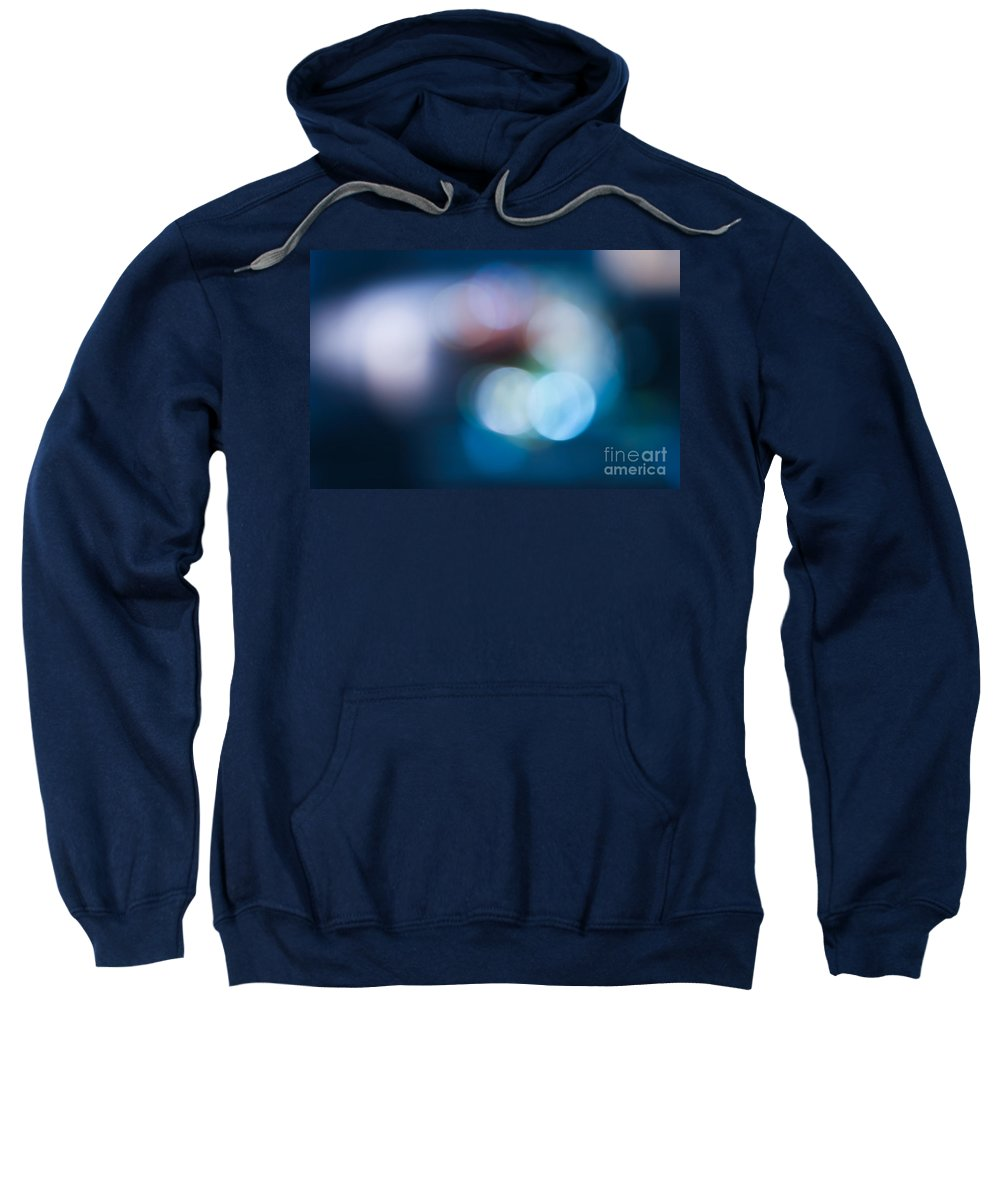 Bokeh Lights Sweatshirt featuring the photograph Bokeh Lights by Sharon Mau