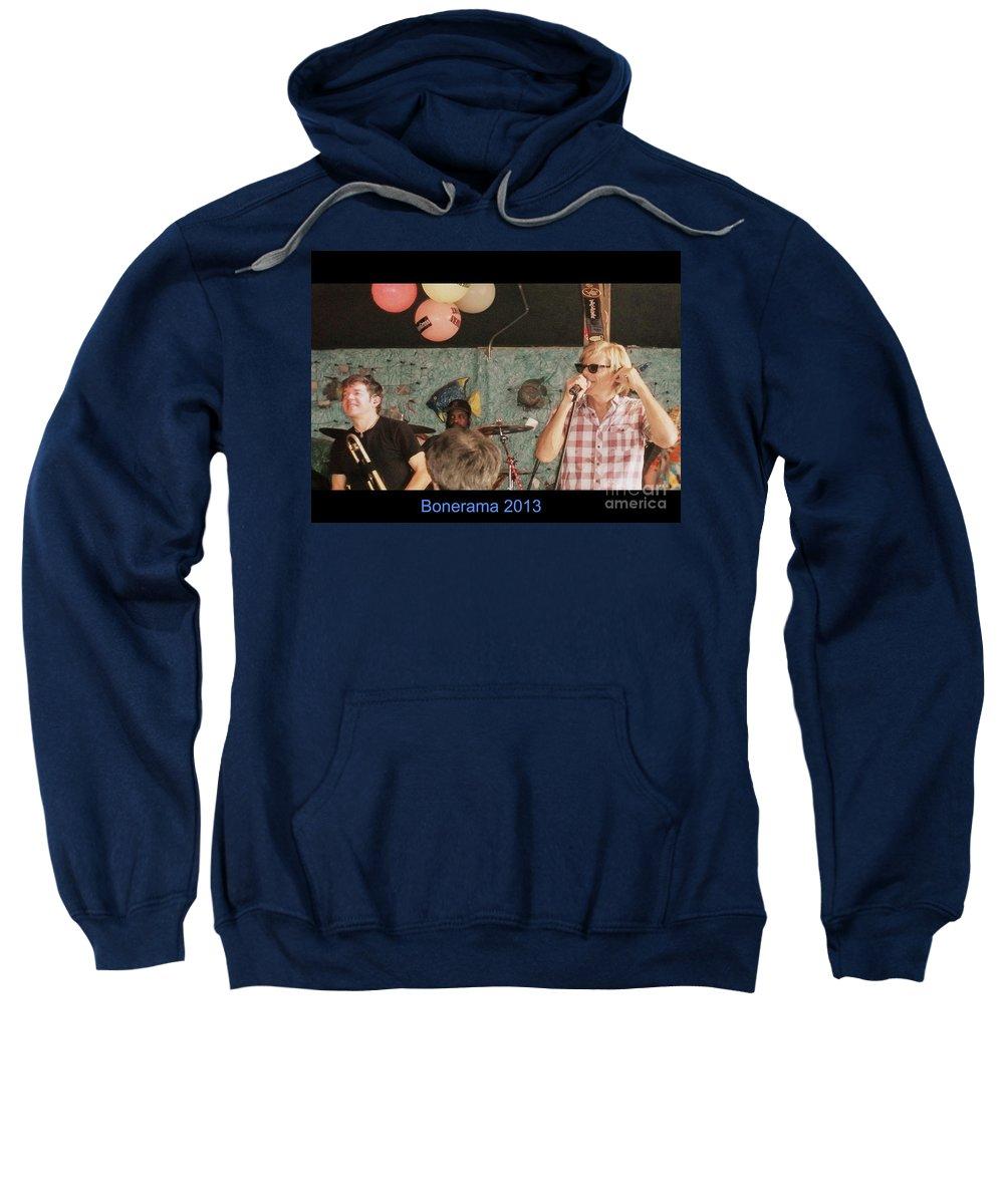 Sweatshirt featuring the photograph Bonerama 2013 by Kelly Awad