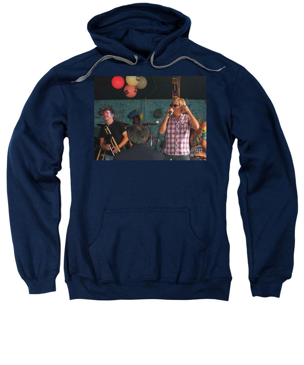 Sweatshirt featuring the photograph Bonerama In Rare Form by Kelly Awad