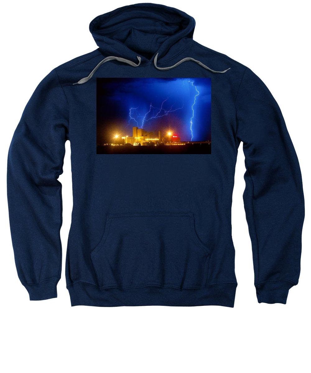 Anheuser-busch Sweatshirt featuring the photograph Budweiser Power by James BO Insogna