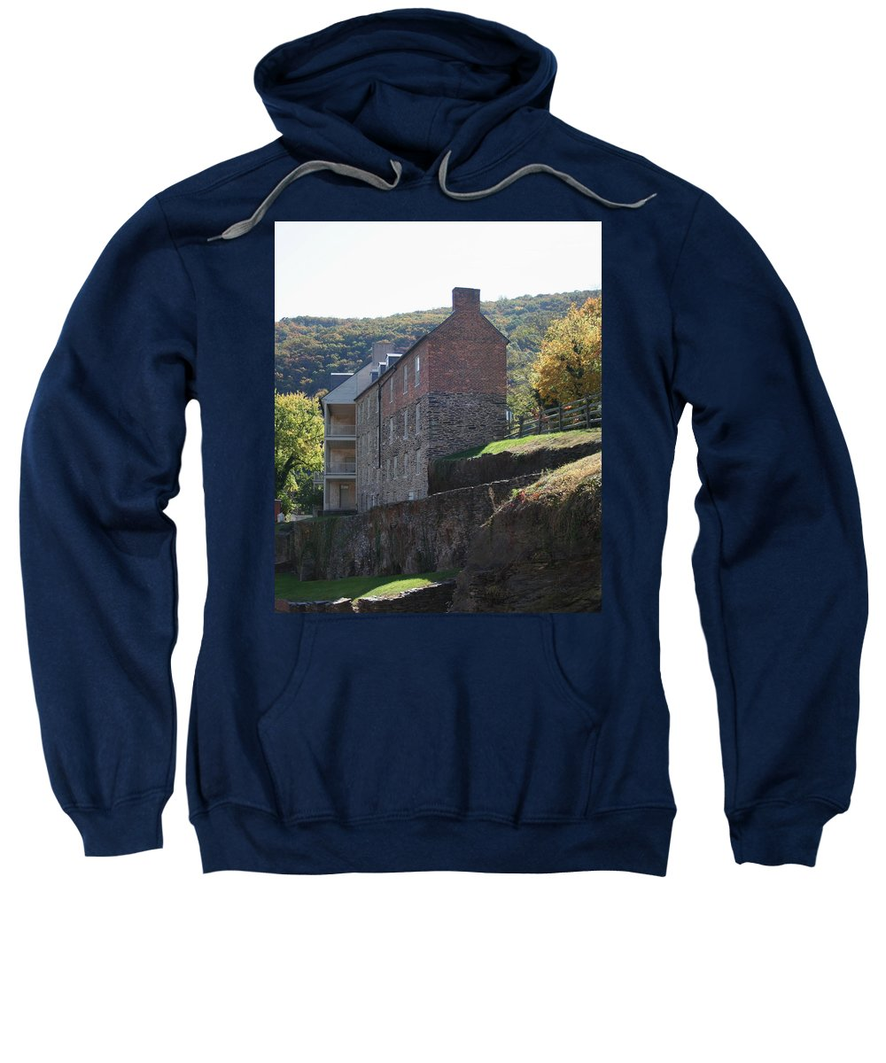 Rock Sweatshirt featuring the photograph Built On A Rock by Rebecca Smith