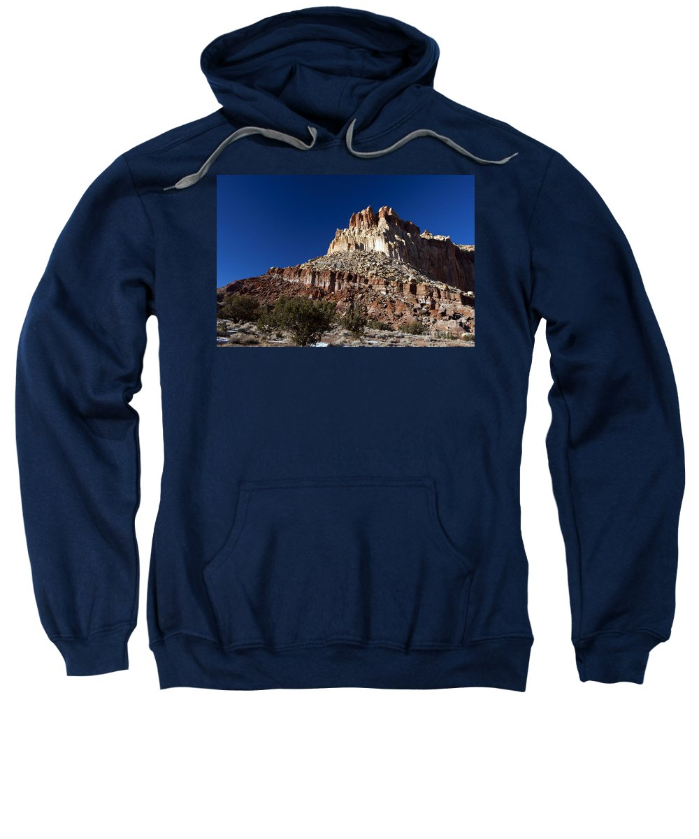 Capitol Reef Sweatshirt featuring the photograph Capitol Reef National Park Utah by Jason O Watson