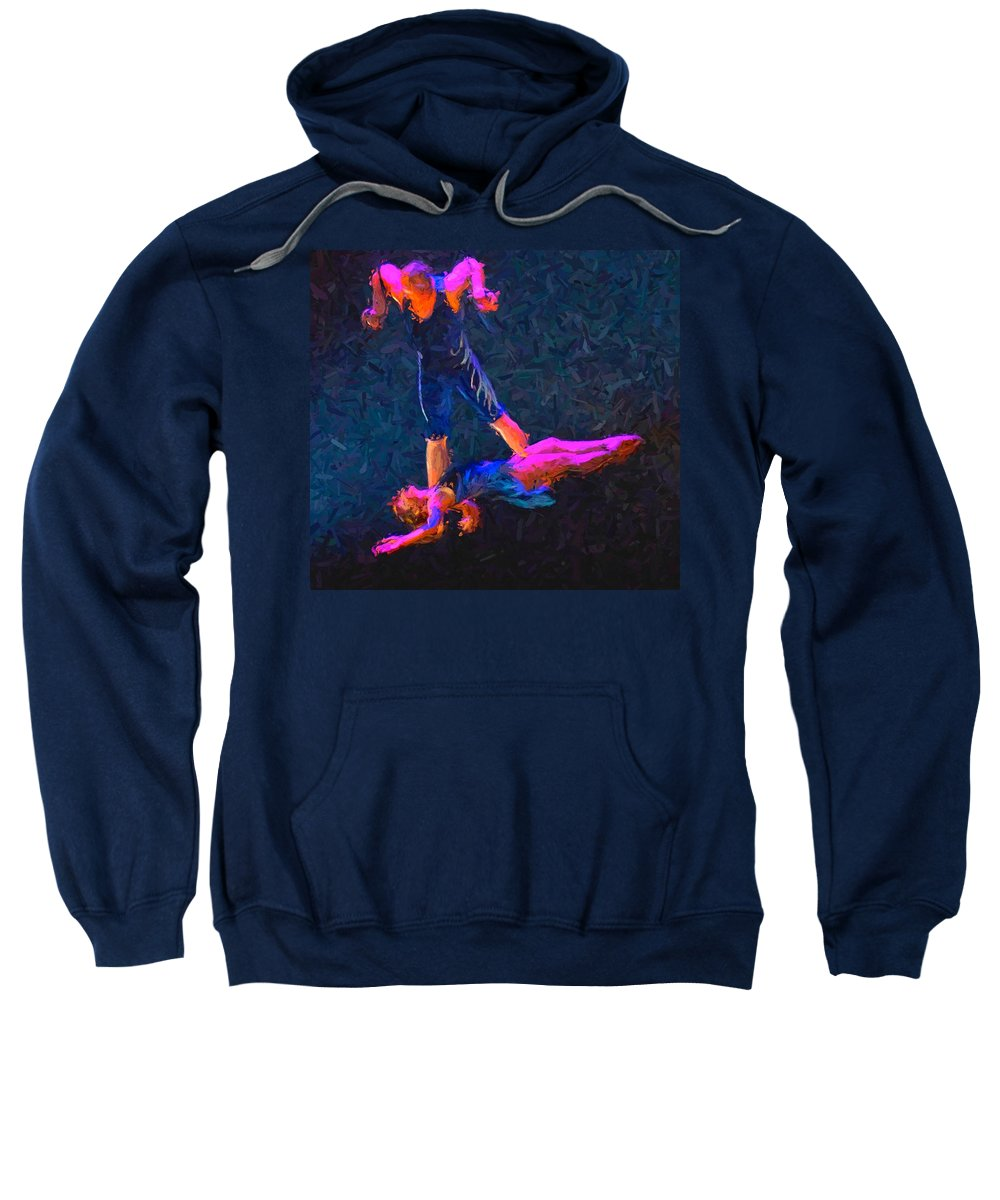 Circus Act Sweatshirt featuring the photograph Catch by Alice Gipson