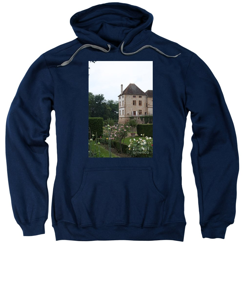 Palace Sweatshirt featuring the photograph Chateau De Cormatin - Burgundy by Christiane Schulze Art And Photography