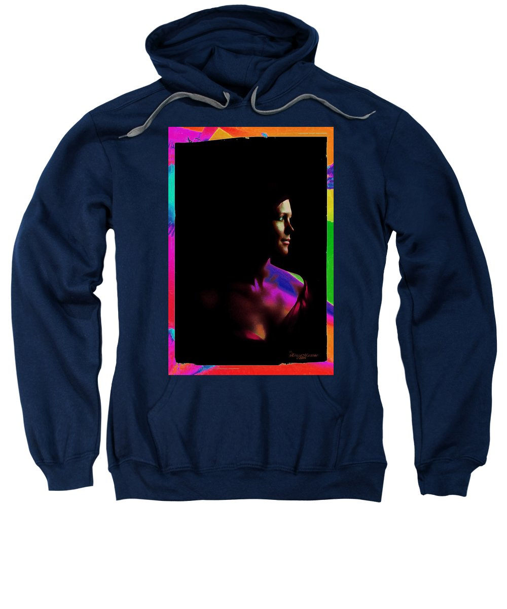 Chiaroscuro Sweatshirt featuring the photograph Chiaroscuro by Ericamaxine Price