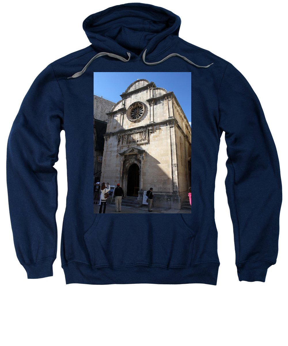Dubrovnik Sweatshirt featuring the photograph Church Of The Saviour by David Nicholls