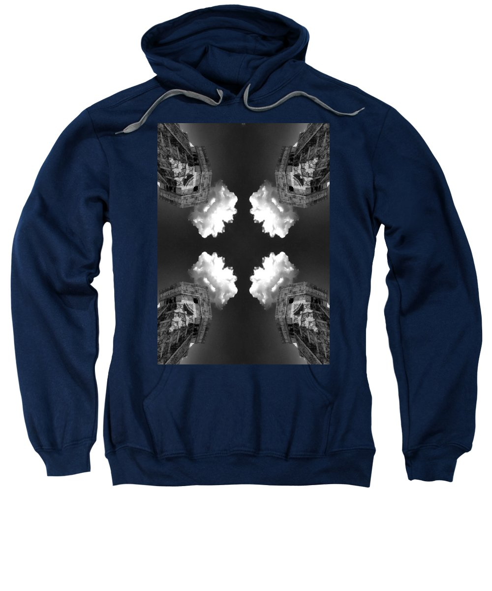 Cloud Generator Sweatshirt featuring the photograph Cloud Generator by Dominic Piperata