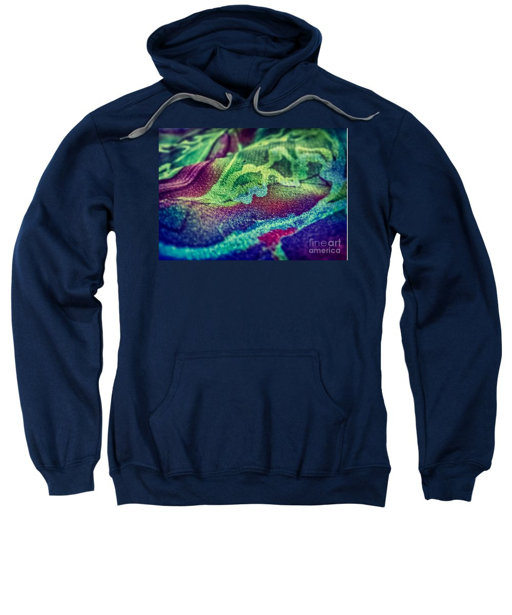 Abstract Photos Sweatshirt featuring the photograph Colored 2 by Justyna JBJart