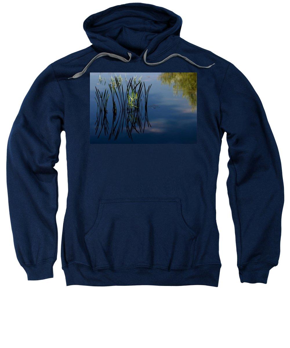 Reflexes Sweatshirt featuring the photograph Dancing On Mirror by Edgar Laureano