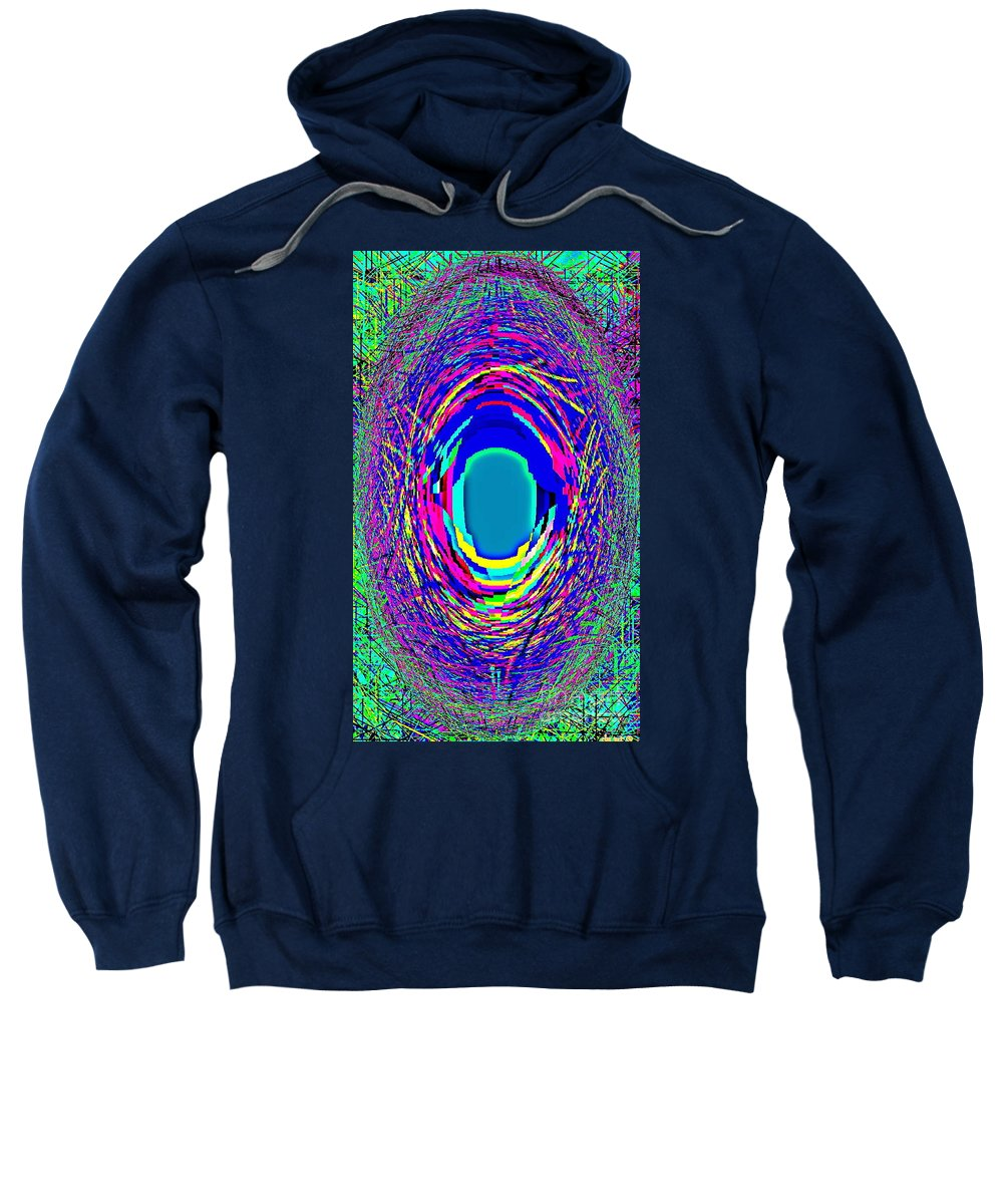 Iphone Case Art Sweatshirt featuring the painting Designer Phone Case Art Colorful Rich Bold Abstracts Cell Phone Covers Carole Spandau Cbs Art 140 by Carole Spandau