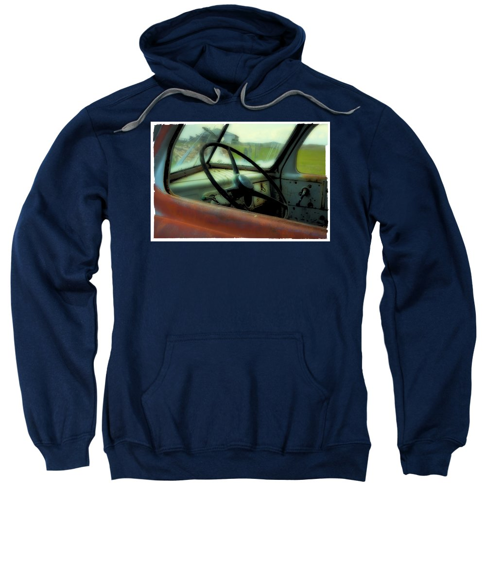 Dodge Sweatshirt featuring the photograph Dodge Truck by Theresa Tahara