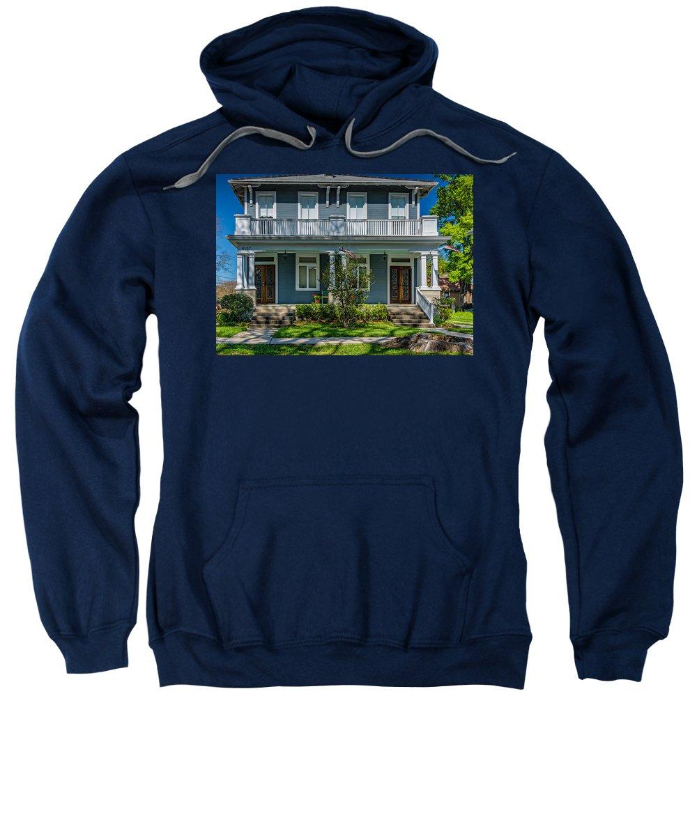 Home Sweatshirt featuring the photograph Double Barreled Shotgun by Steve Harrington