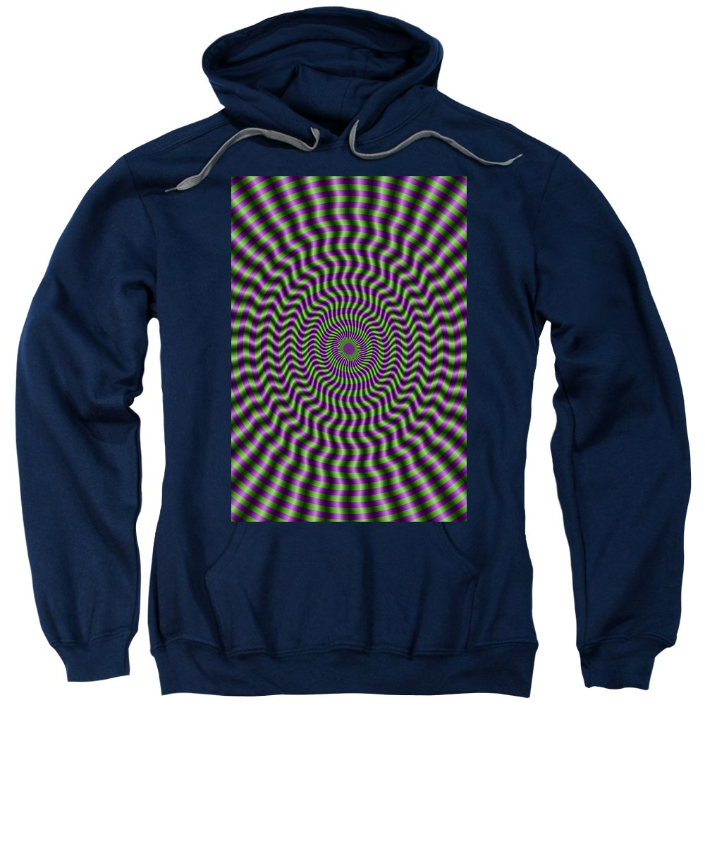 Dream Sweatshirt featuring the digital art Dreamland 4 by WB Johnston