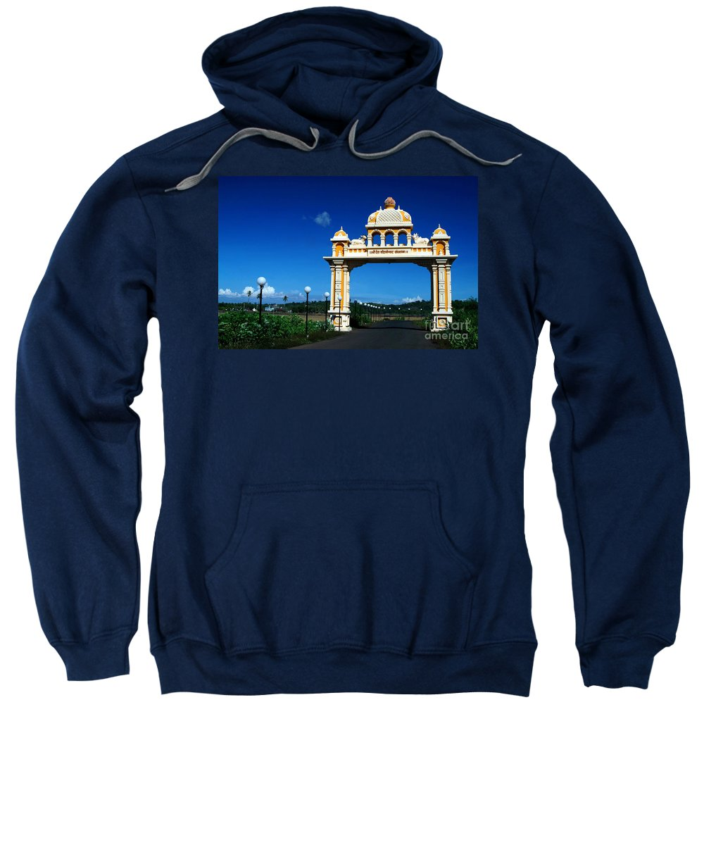 Entrance Sweatshirt featuring the photograph Entrance To Heaven by Dattaram Gawade