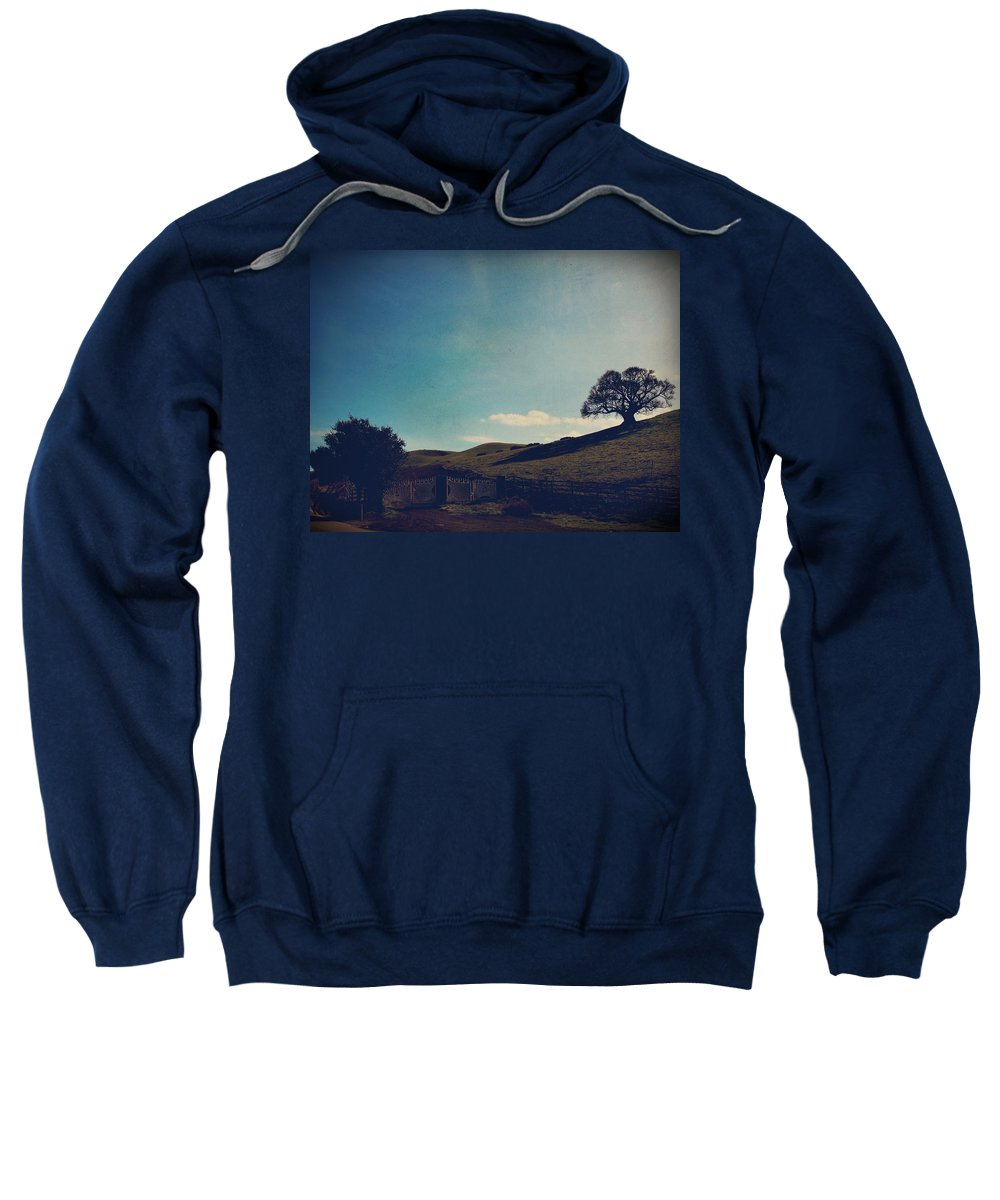 Sunol Sweatshirt featuring the photograph Entrances by Laurie Search