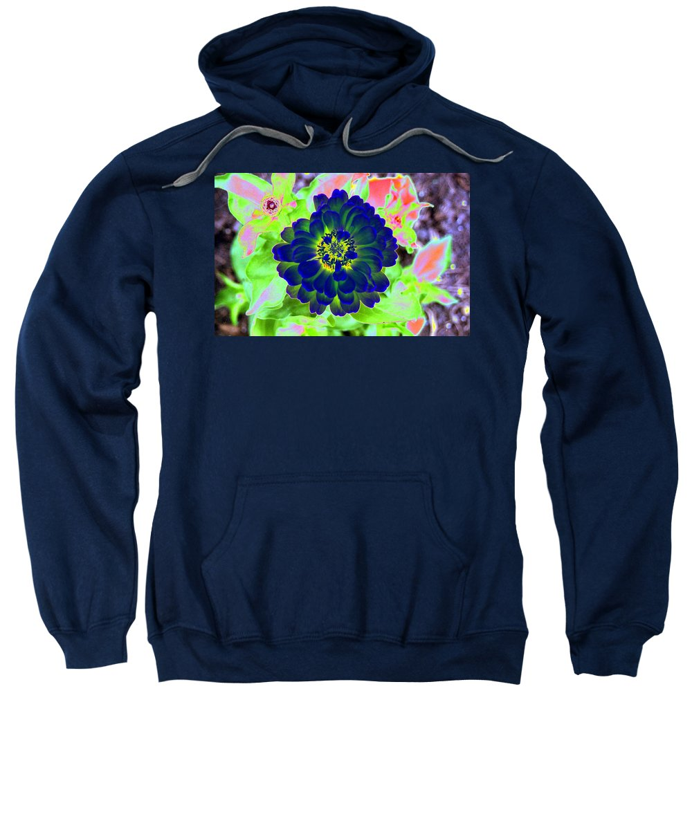 Flower Sweatshirt featuring the photograph Flower Power 1460 by Pamela Critchlow